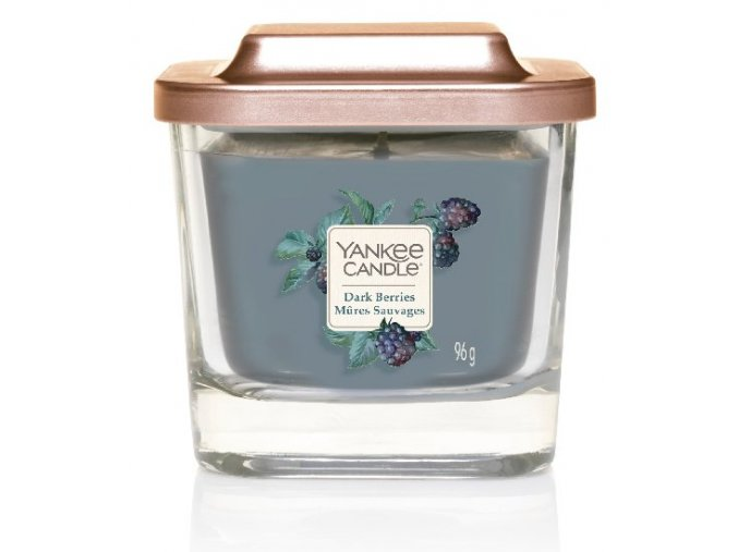 Yankee Candle vonná svíčka ELEVATION Dark Berries malá