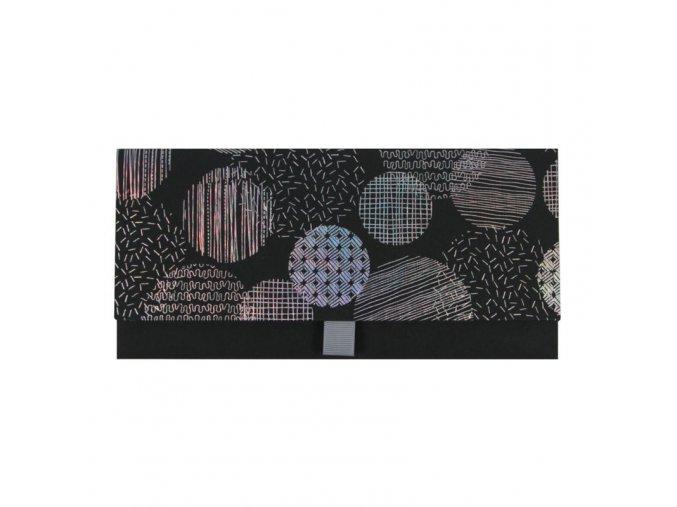 Dárková obálka přání 23 x 11 cm vzor kola Artebene