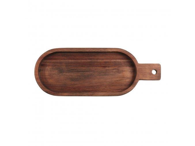 Dřevěná mísa s rukojetí WOOD 33,4 cm ASA Selection 2