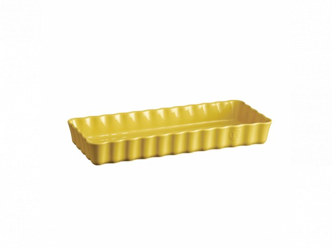 Forma koláčová PROVENCE obdelníková, žlutá 15 x 36 cm Emile Henry