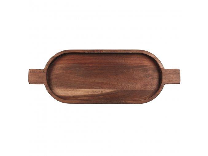 Dřevěná mísa s rukojetí WOOD 49 cm ASA selection