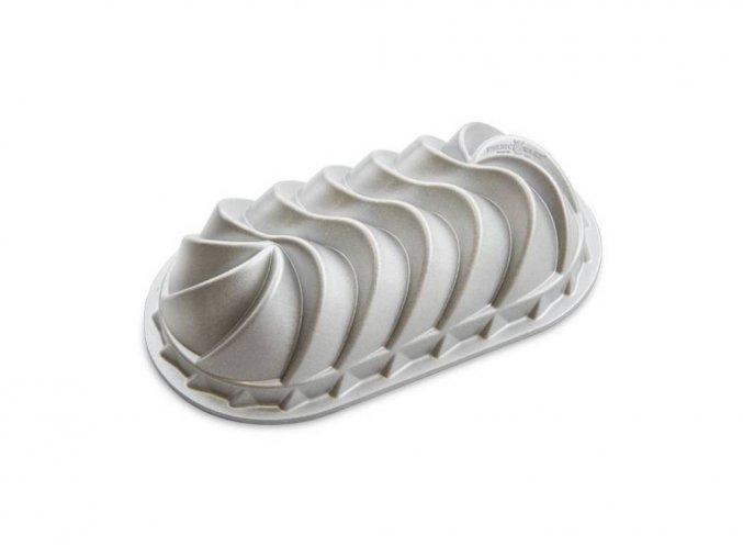 Forma na chlebíček HERITAGE 6 cup stříbrná Nordic Ware
