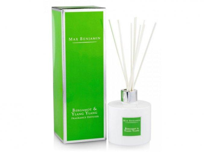 Aroma difuzér CLASSIC Bergamot & Ylang Ylang 150 ml MAX BENJAMIN