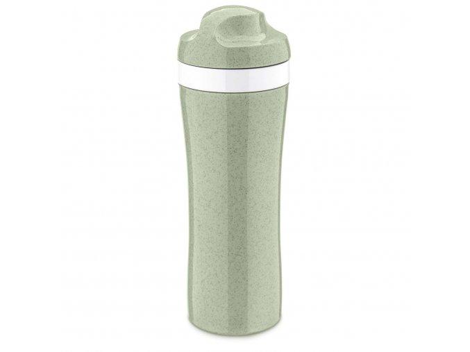 Láhev na vodu OASE zelená, 425 ml Koziol