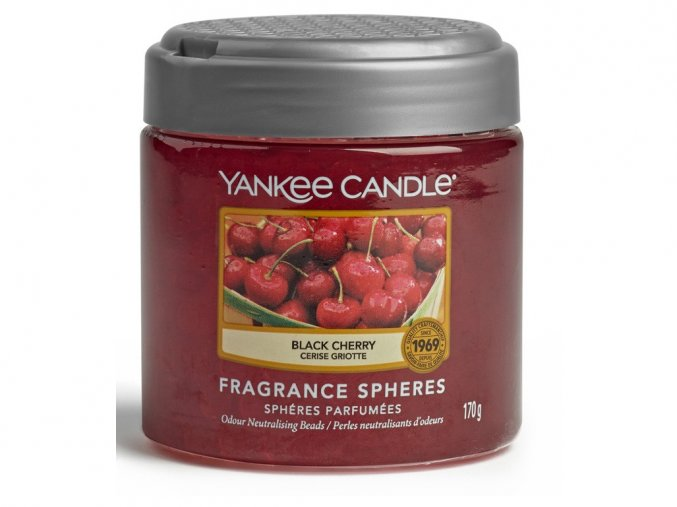 Vonné perly SPHERES BLACK CHERRY Yankee Candle