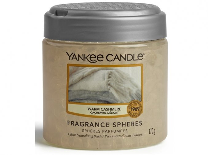 Vonné perly SPHERES WARM CASHMERE Yankee Candle