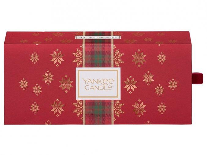 Yankee Candle dárková sada vánoční 3 ks svíčka Classic malý
