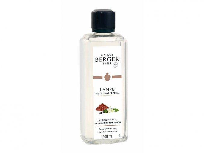 Maison Berger Paris interiérový parfém Pokušení santálového dřeva 500 ml