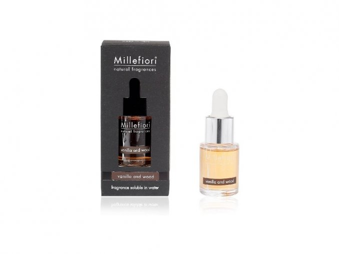 Millefiori Natural aroma olej Vanilla & Wood 15 ml