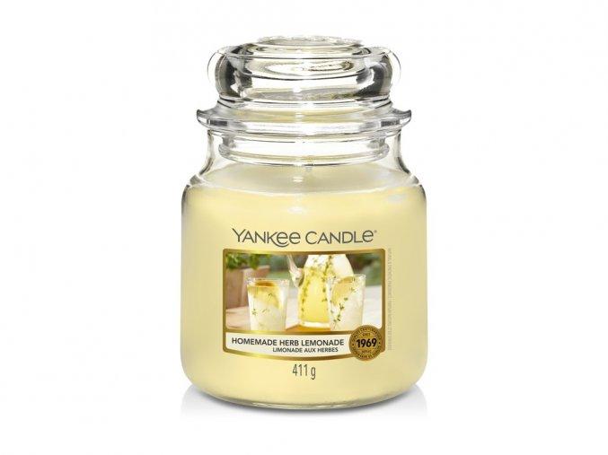 Svíčka Classic střední HOMEMADE HERB LEMONADE Yankee Candle