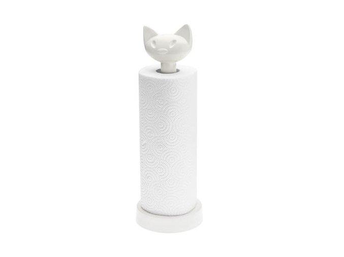 Držák na papírové utěrky MIAOU bílý Koziol