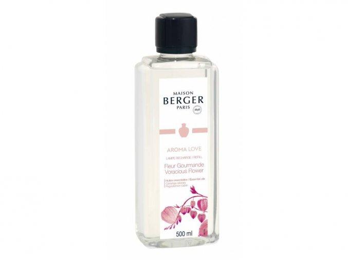 Maison Berger Paris interiérový parfém Aroma Love Gurmánské květy, 500 ml