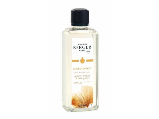 Maison Berger Paris interiérový parfém Aroma Energy Sparkling Zest, 500 ml