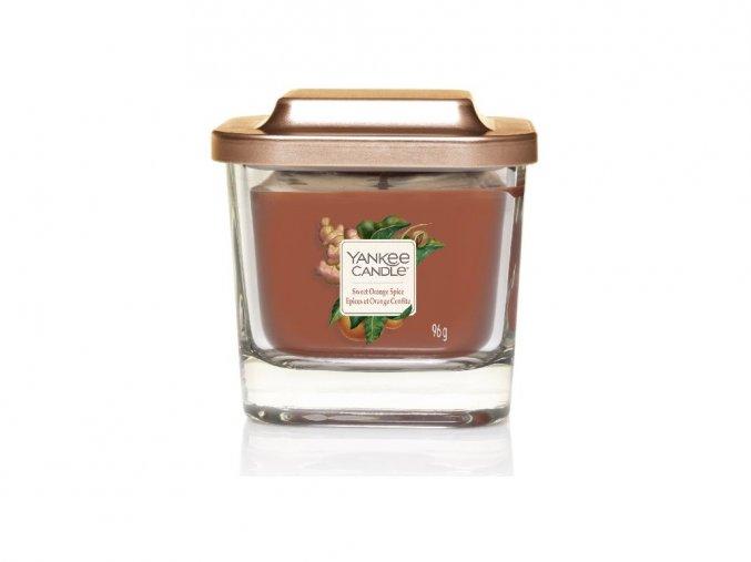Yankee Candle vonná svíčka ELEVATION Sweet Orange Spice, malá