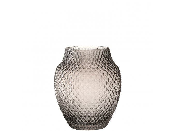 Váza POESIA 23 cm, šedá Leonardo
