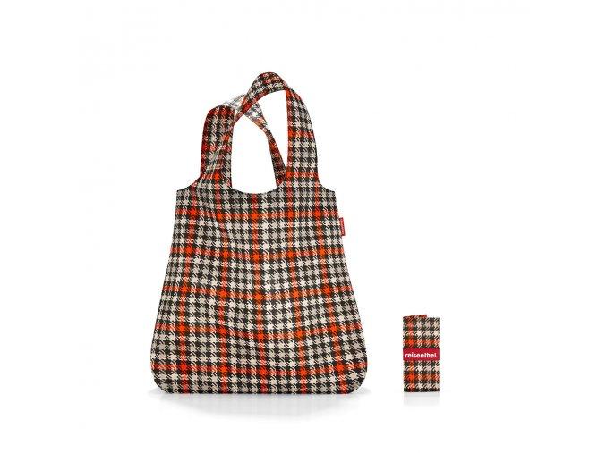 Skládací taška Mini Maxi Shopper glencheck red, Reisenthel