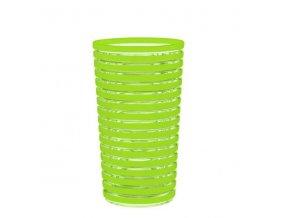 Sklenice SWIRL 36cl zelený proužek ZAK!designs