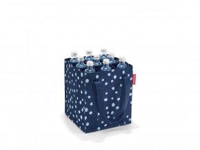 Nákupní taška na lahve BOTTLEBAG spots navy Reisenthel