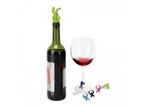 uzávěrka na víno DRINKING BUDDY Umbra