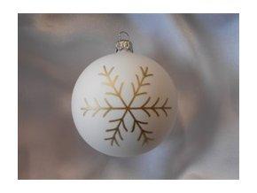 Vánoční koule vločka