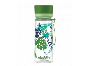 ALADDIN AVEO láhev na vodu 350 ml zelená s potiskem