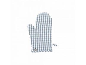 Rukavice na vaření OSBY 15x32 cm modrošedá Linum