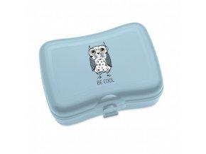 Jídelní box chlebníček ELLI modrý Koziol