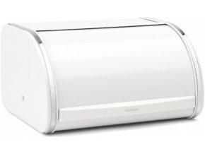 Chlebník Roll Top střední, bílý Brabantia
