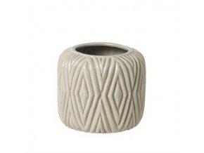 Váza keramická RHOMBE S Broste