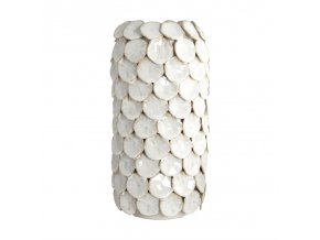 Váza DOT béžová 30 cm House Doctor