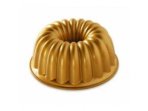 Forma na bábovku ELEGANT zlatá Nordic Ware