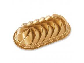 Forma na chlebíček HERITAGE 6 cup zlatá Nordic Ware
