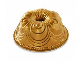 Forma na bábovku Chiffon 10 cup zlatá Nordic Ware