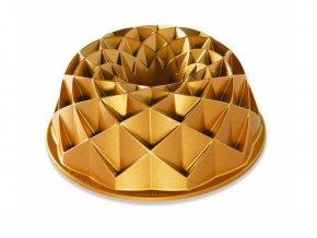 Forma na bábovku Jubilee 10 cup zlatá Nordic Ware