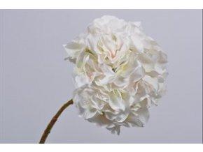 Hortenzie 53 cm krémovo růžová SILK KA