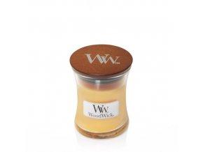 WoodWick vonná svíčka sklo malé SEASIDE MIMOSA