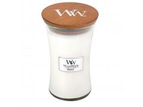 WoodWick vonná svíčka sklo velké MAGNOLIA