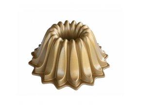 Forma na bábovku LOTUS 5 cup zlatá Nordic Ware