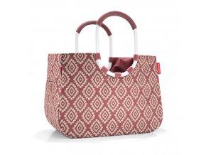 Nákupní taška LOOPSHOPPER L diamonds rouge Reisenthel