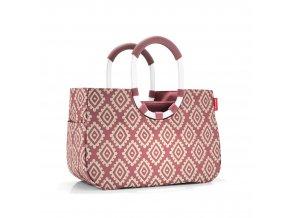 Nákupní taška LOOPSHOPPER M diamonds rouge Reisenthel