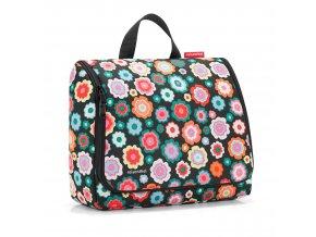 Kosmetická taška TOILETBAG XL happy flowers Reisenthel