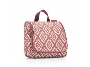Kosmetická taška TOILETBAG diamonds rouge Reisenthel