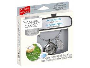 Yankee Candle CHARMING SCENTS SET LINEAR vůně do auta Clean Cotton