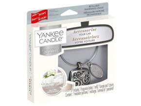 Yankee Candle Charming Scents set SQUARE vůně do auta Fluffy Towels