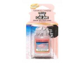 Yankee Candle gelová visačka vůně do auta Pink Sands