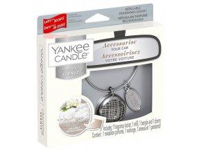 Yankee Candle Charming Scents set LINEAR vůně do auta Fluffy Towels 1
