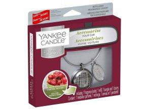 Yankee Candle Charming Scents set LINEAR vůně do auta Black Cherry