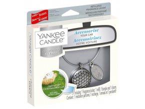 Yankee Candle Charming Scents set GEOMETRIC vůně do auta Clean Cotton