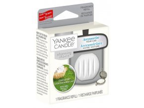 Yankee Candle Charming Scents náplň vůně do auta Clean Cotton