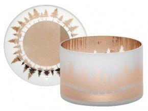 Yankee Candle WINTERSCAPE stínítko + talíř velký